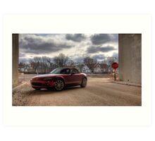 Mazda Miata HDR Art Print