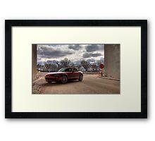 Mazda Miata HDR Framed Print