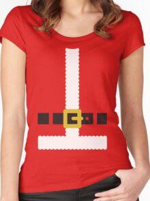 Santa Claus suit Women's Fitted Scoop T-Shirt