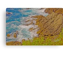 Turquoise Surf - Point Lobos State Reserve, Carmel, CA Canvas Print