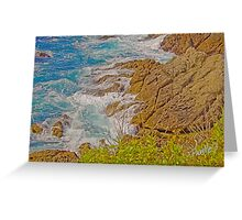 Turquoise Surf - Point Lobos State Reserve, Carmel, CA Greeting Card