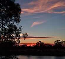 Sunrise at Hay Weir II by Mark Cooper