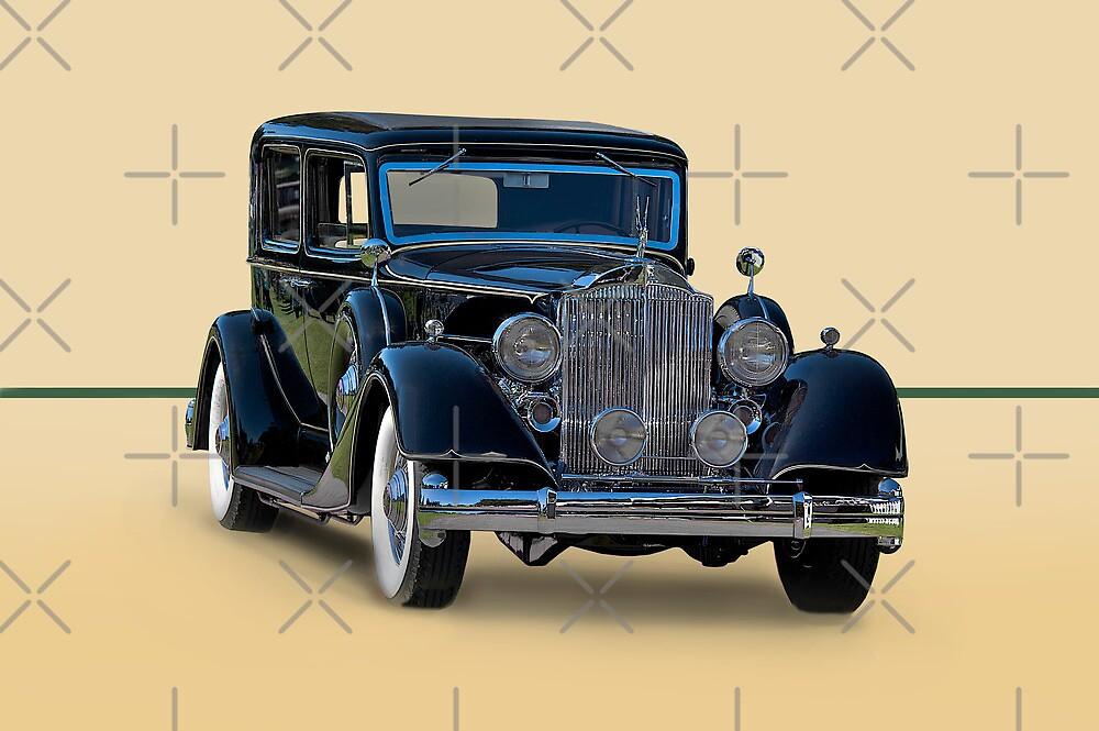 1932 Packard Sedan by DaveKoontz