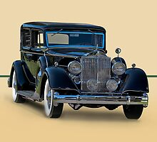 1932 Packard Sedan by DaveKoontz