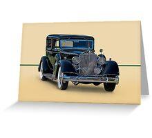 1932 Packard Sedan Greeting Card
