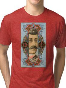 Optician Trade Card circa 1880 Tri-blend T-Shirt
