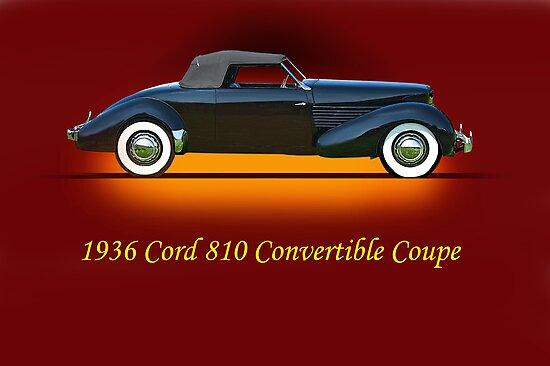 1936 Cord 810 Convertible w/ID by DaveKoontz