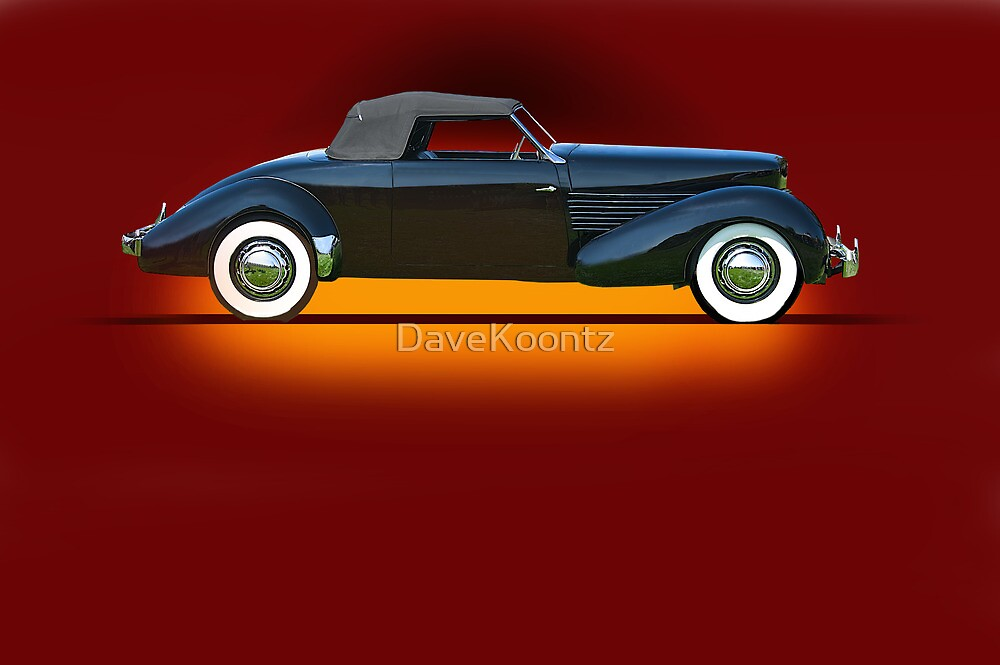 1936 Cord 810 Convertible Coupe w/o ID by DaveKoontz