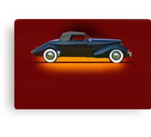 1936 Cord 810 Convertible Coupe w/o ID Canvas Print