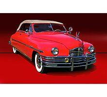 1948 Packard Super 8 Victoria Convertible Photographic Print