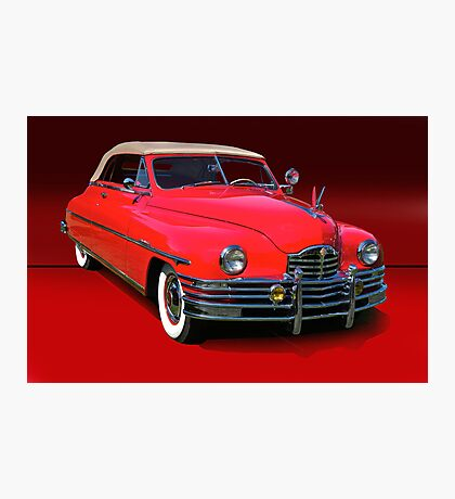 1948 Packard Super 8 Victoria Convertible Photographic Print