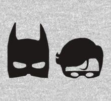 Dark Knight & Robin T-shirt & Hoodie by devige