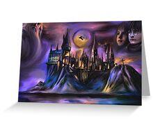 The Magic castle  I Greeting Card