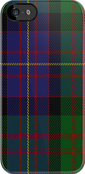00563 Cameron of Erracht Military Tartan Fabric Print Iphone Case by Detnecs2013