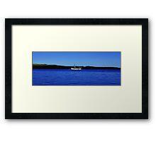 Fishing Boat in Staffin Bay, Isle of Skye Framed Print