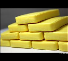 Citrus Aloe Hotel Soap Bars  by © Sophie W. Smith