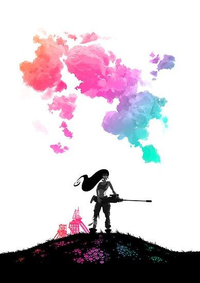 Rainbow Girl by sorasabi