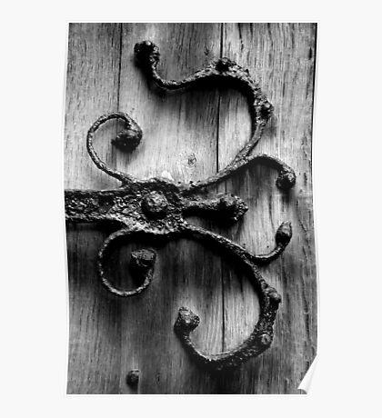 Ironwork Church Door - England Poster