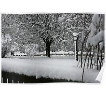 SNOWY DAY IN THE OZARKS Poster