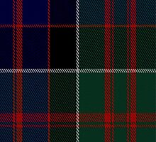 00572 MacDonald of Clanranald Tartan Fabric Print Iphone Case by Detnecs2013