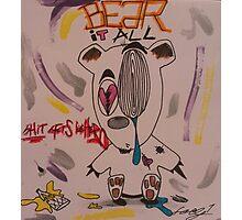 Grinn'n Bear Photographic Print
