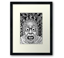 Aztec Vex Framed Print