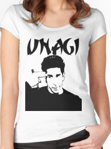Unagi 1 Women's Fitted Scoop T-Shirt