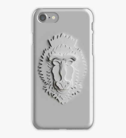 """Mandrill King"" iPhone Case/Skin"