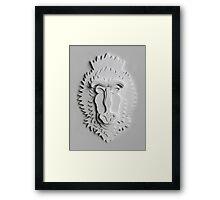 """""""Mandrill King"""" Framed Print"""