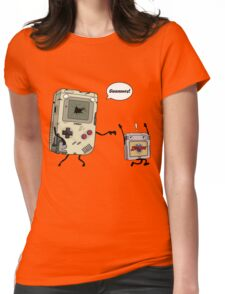Don't Get 8bit! Womens Fitted T-Shirt