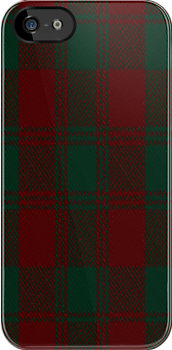 00585 Donachie of Brockloch Tartan Fabric Print Iphone Case by Detnecs2013