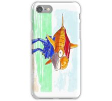 A SMALL STEP FOR A DOLPHIN... iPhone Case/Skin