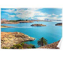 Lake Nasser. Poster