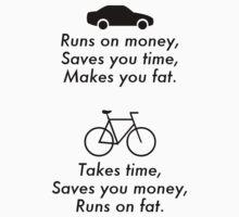 Car vs. Bike by DrakeELTD