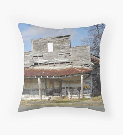 Plantation Store Throw Pillow