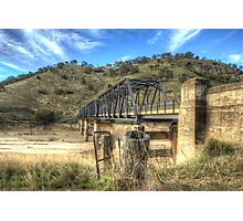 Taemas Bridge NSW  Australia  no 2  Photographic Print