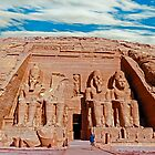 Great Temple of Ramses II by bulljup