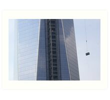 Wold Trade Center Toilets Art Print