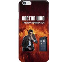 DR WHO - The Ex Terminator iPhone Case/Skin