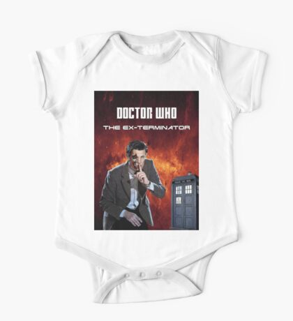 DR WHO - The Ex Terminator One Piece - Short Sleeve