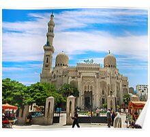 Abu Abbas Al Mursi Mosque. Poster