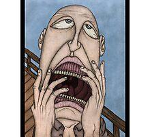 The Scream. Photographic Print