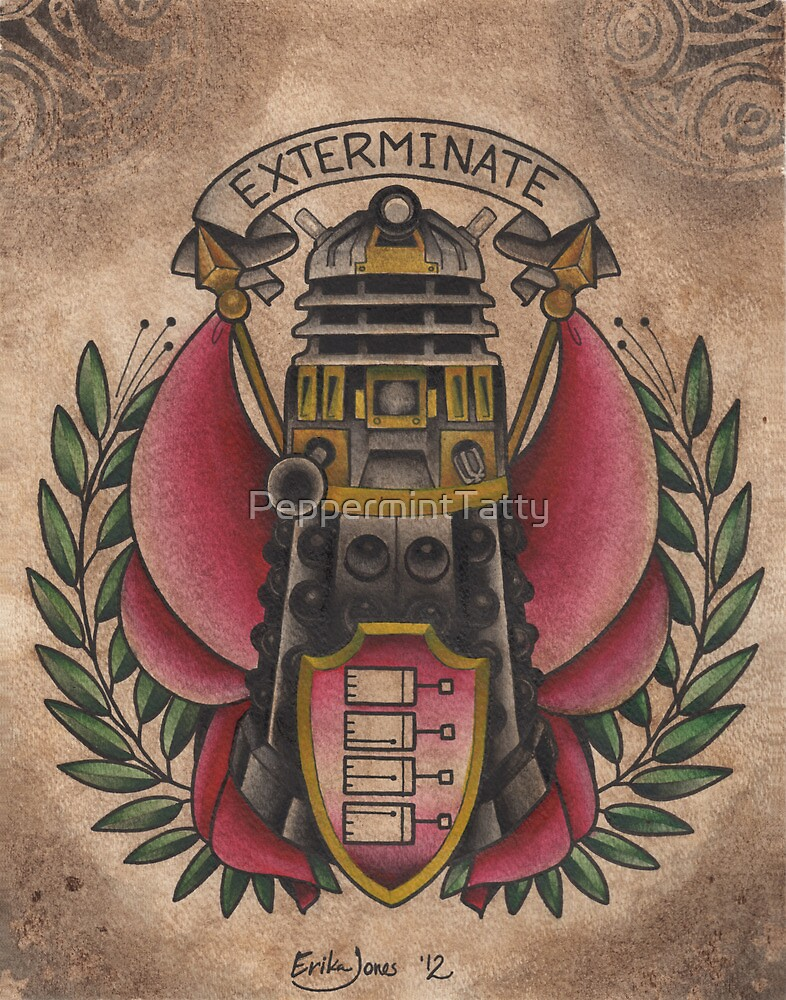 """""""Exterminate""""  by PeppermintTatty"""