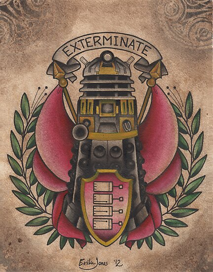 """Exterminate""  by PeppermintTatty"
