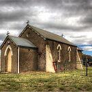 Church Build 1889  NSW Australia by Kym Bradley