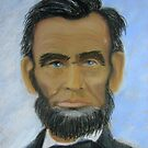 Abraham Lincoln by Hilary Robinson