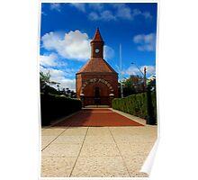 Warm Memorial for Anzacs  Boorowa NSW   Australia  Poster