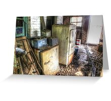 Fridges with NO BEER  , Boorowa  NSW  Greeting Card