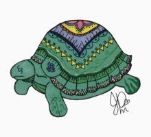 Tortoise in Sharpie   by JasmineMDeLeon
