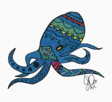 Octopus in Sharpie  Kids Clothes